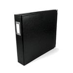 We R Memory Keepers - Classic Leather - 12x12 - Three Ring Albums - Black