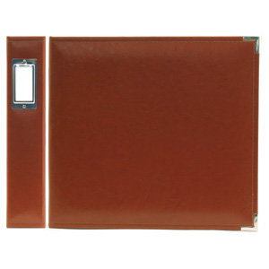 We R Memory Keepers - Classic Leather - 12x12 - Three Ring Albums - British Tan
