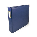 We R Memory Keepers - Classic Leather - 12x12 - Three Ring Albums - Cobalt