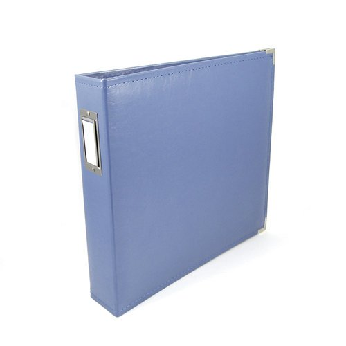 We R Memory Keepers - Classic Leather - 12x12 - Three Ring Albums - Country Blue