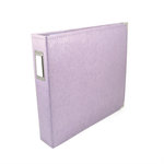 We R Memory Keepers - Classic Leather - 12x12 - Three Ring Albums - Lilac