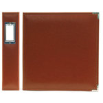 We R Memory Keepers - Classic Leather - 8.5x11 - Three Ring Albums - British Tan