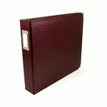 We R Memory Keepers - Classic Leather - 8.5x11 - Three Ring Albums - Cinnamon