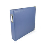 We R Memory Keepers - Classic Leather - 8.5x11 - Three Ring Albums - Country Blue