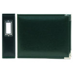 We R Memory Keepers - Classic Leather - 6x6 - Three Ring Albums - Forest Green