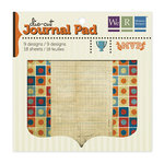 We R Memory Keepers - MVP Collection - Die Cut Journal Pad