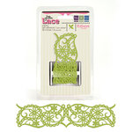 We R Memory Keepers - Tiffanys Collection - Self Adhesive Glitter Lace - Paisley, CLEARANCE