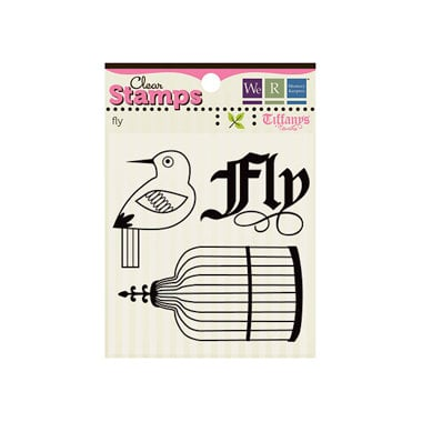 We R Memory Keepers - Tiffanys Collection - Clear Acrylic Stamps - Fly