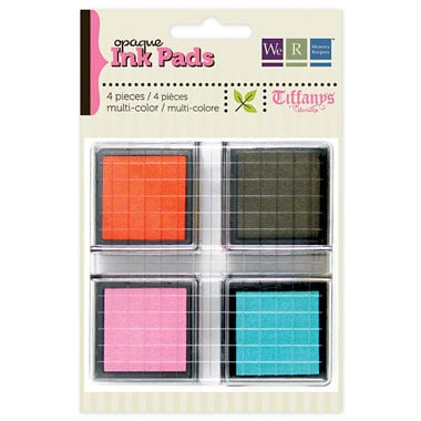 We R Memory Keepers - Tiffanys Collection - Opaque Ink Pad Set