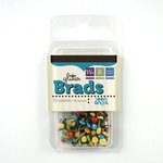 We R Memory Keepers - Teen Angst Collection - Glitter Brads, CLEARANCE