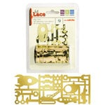 We R Memory Keepers - GeoHectic Collection - Self Adhesive Foil Lace - Play Time