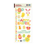 We R Memory Keepers - Hippity Hoppity Collection - Easter - Embossed Cardstock Stickers, BRAND NEW
