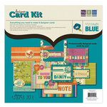 We R Memory Keepers - Vintage Blue Collection - Designer Card Kit