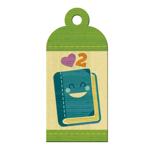 We R Memory Keepers - Show and Tell Collection - Embossed Tags - Reading