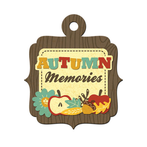 We R Memory Keepers - Maple Grove Collection - Embossed Tags - Autumn