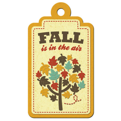 We R Memory Keepers - Maple Grove Collection - Embossed Tags - Fall
