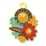 We R Memory Keepers - Maple Grove Collection - Embossed Tags - Cornucopia