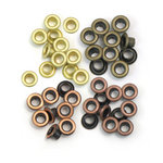 We R Memory Keepers - Eyelets - Standard - Warm Metal