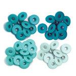 We R Memory Keepers - Eyelets - Wide - Aqua