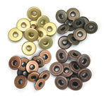 We R Memory Keepers - Eyelets - Wide - Warm Metal