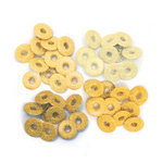 We R Memory Keepers - Eyelets - Wide - Glitter - Yellow
