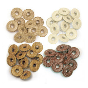 We R Memory Keepers - Eyelets - Wide - Glitter - Brown