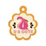 We R Memory Keepers - Embossed Tags - U R Cute