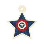 We R Memory Keepers - Embossed Tags - Star