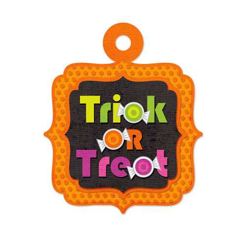 We R Memory Keepers - Embossed Tags - Trick or Treat