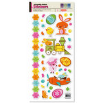 We R Memory Keepers - Peep Collection - Easter - Embossed Cardstock Stickers, BRAND NEW