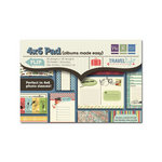 We R Memory Keepers - Travel Light Collection - 4 x 6 Albums Made Easy Pad