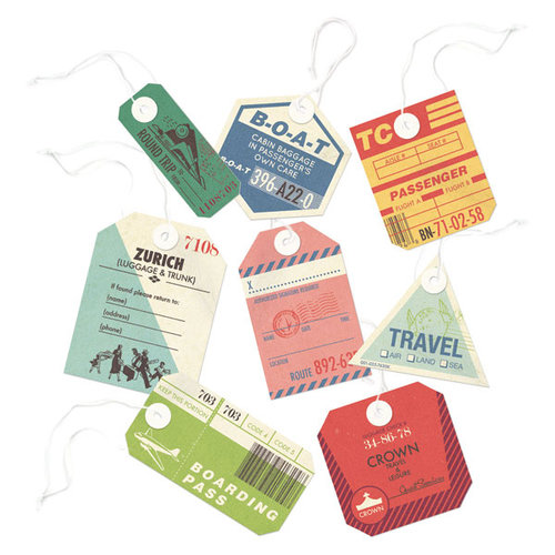 We R Memory Keepers - Travel Light Collection - Travel Tags