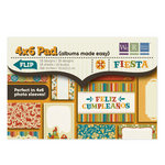 We R Memory Keepers - Fiesta Collection - 4 x 6 Albums Made Easy Pad