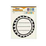 We R Memory Keepers - Fiesta Collection - Clear Acrylic Stamps - Sol