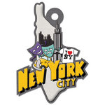 We R Memory Keepers - Destination Collection - Embossed Tags - New York City