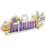 We R Memory Keepers - Destination Collection - Embossed Tags - New Orleans