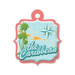 We R Memory Keepers - Destination Collection - Embossed Tags - The Caribbean