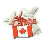 We R Memory Keepers - Destination Collection - Embossed Tags - Canada