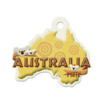 We R Memory Keepers - Destination Collection - Embossed Tags - Australia