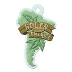We R Memory Keepers - Destination Collection - Embossed Tags - South America
