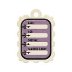 We R Memory Keepers - Spookville Collection - Halloween - Embossed Tags - Halloween Stats