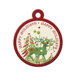 We R Memory Keepers - Peppermint Twist Collection - Christmas - Embossed Tags - Happy Holidays