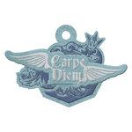 We R Memory Keepers - Vintage T Collection - Embossed Tags - Carpe Diem
