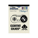 We R Memory Keepers - Vintage T Collection - Clear Acrylic Stamps - Game Over
