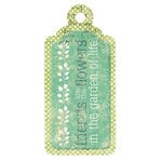We R Memory Keepers - Good Day Sunshine Collection - Embossed Tags - Friends