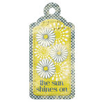 We R Memory Keepers - Good Day Sunshine Collection - Embossed Tags - Shine On