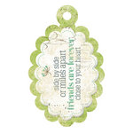 We R Memory Keepers - Good Day Sunshine Collection - Embossed Tags - Side By Side