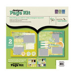 We R Memory Keepers - Good Day Sunshine Collection - 12 x 12 Designer Page Kit