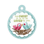 We R Memory Keepers - Love Struck Collection - Embossed Tags - How Sweet