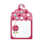 We R Memory Keepers - Love Struck Collection - Embossed Tags - Journal Tag